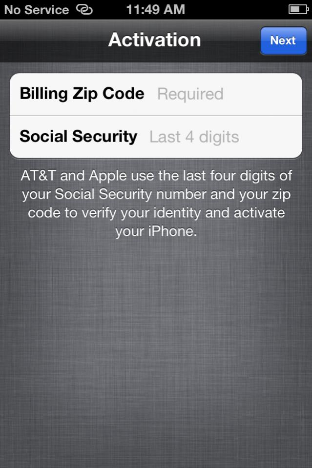 AT&T iPhone Purchased on Ebay Wont Activate | MacRumors Forums
