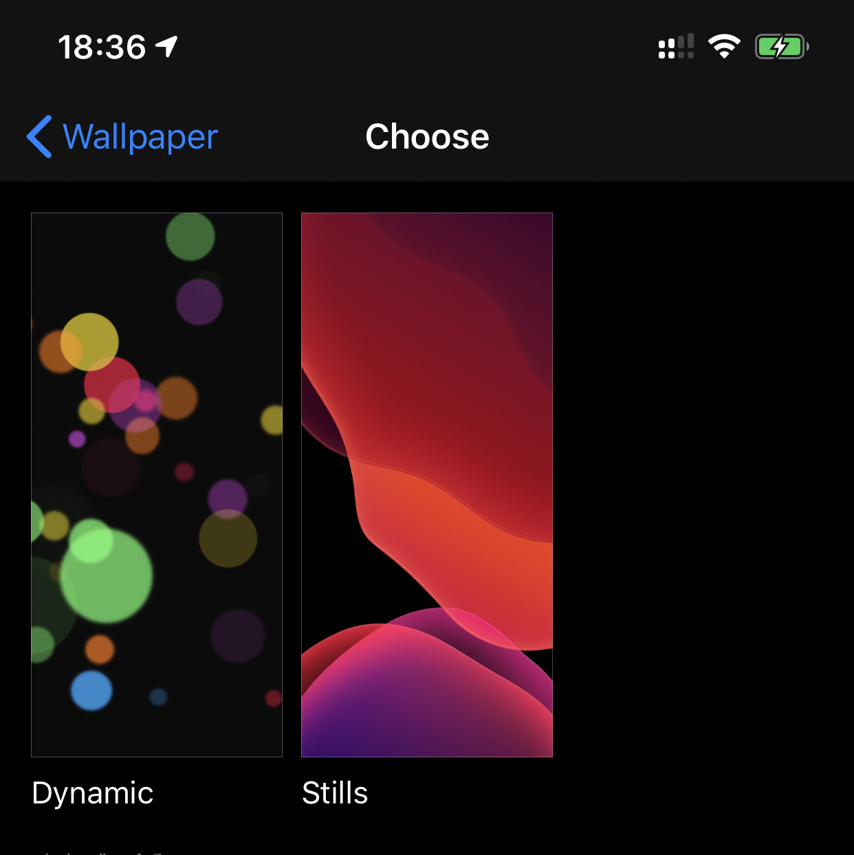 New Wallpapers Missing On Iphone 11 Pro Max 13 1 Beta 4 Macrumors Forums