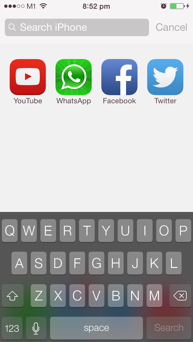 I Am So Glad That Transparent Keyboard Is Back On IOS 71