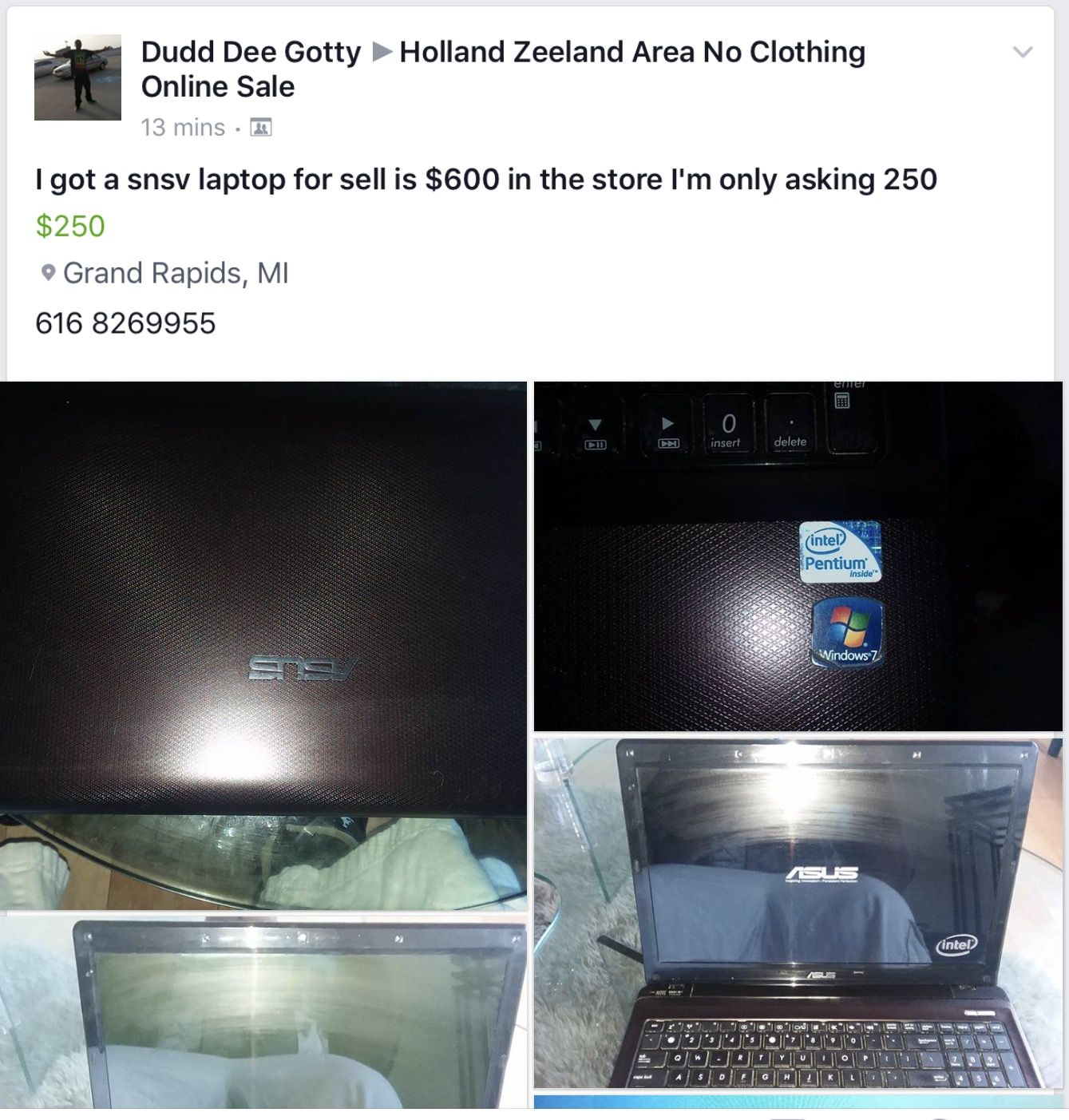 snsv laptop for sale macrumors forums