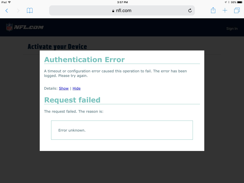 NFL Network app gone? | MacRumors Forums