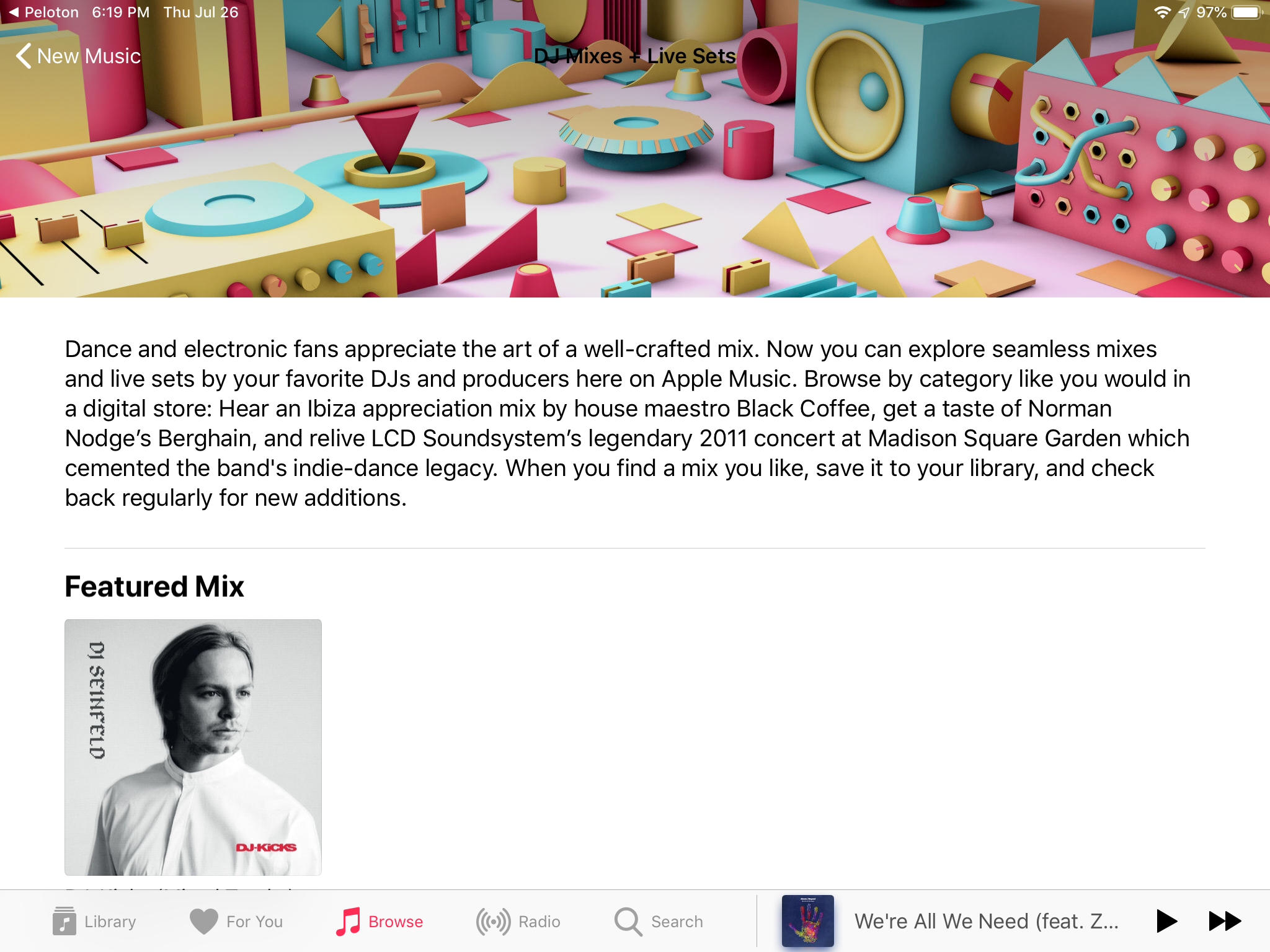 DJ Mixes and Live Sets coming to Apple Music?! | MacRumors