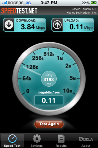 Iphone 3g 3gs Speed Test Macrumors Forums