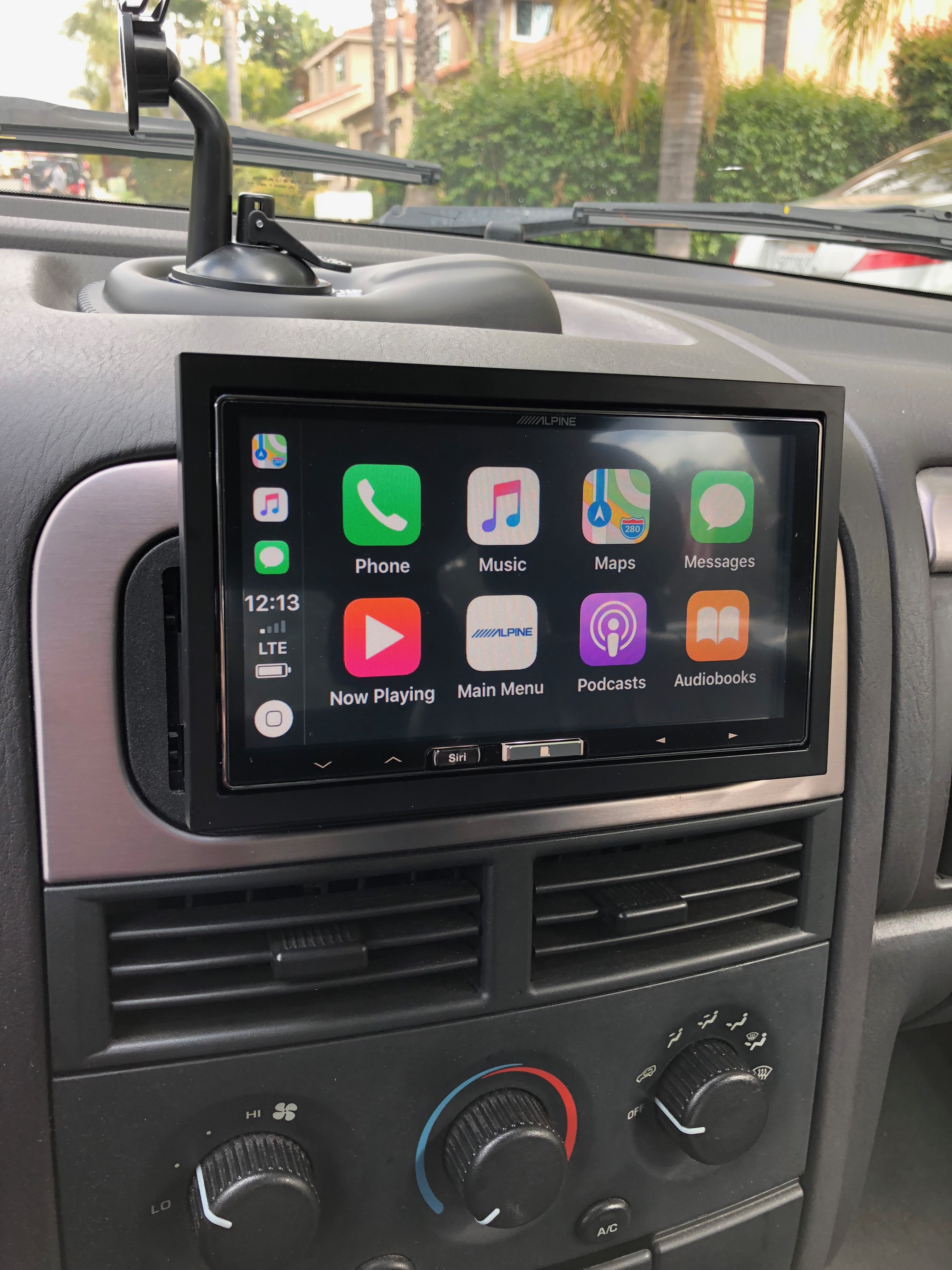 Carplay Wireless Aftermarket Head Unit Page 2 Cigarette Lighter Wiring Plug Jeep Cherokee Forum So The Only Think You Can Do Is Switch To Another Input Like Itunes Stop Radio Camera Was Located In Top Middle Of License Plate