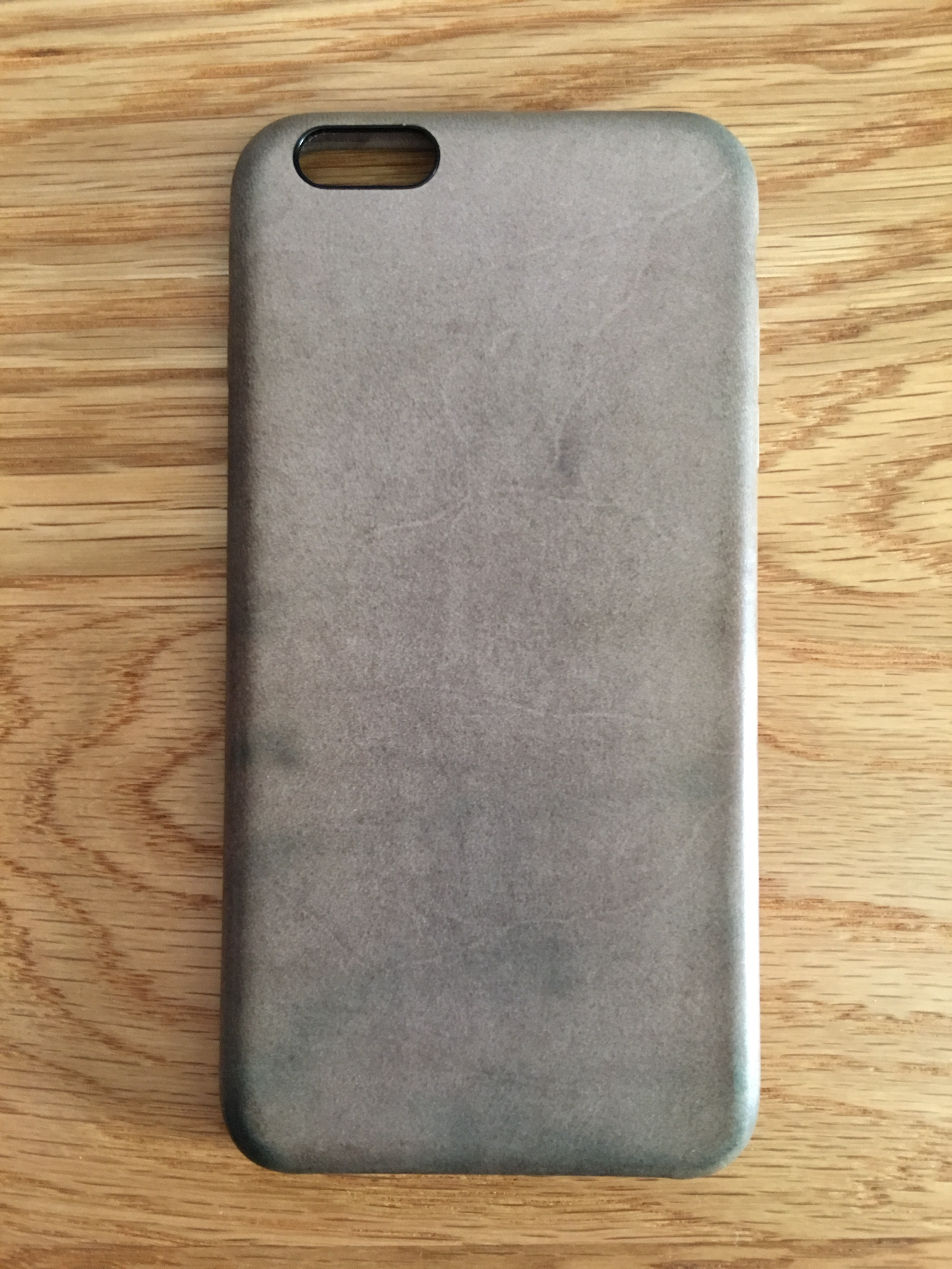 new style 0a5d7 d62a4 People using/used the Rose Grey Apple leather case for iPhone 6s/6s+ ...