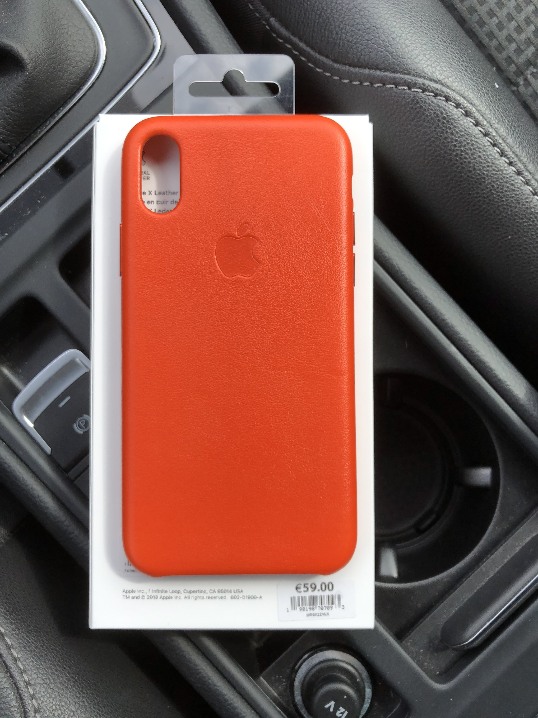 new concept 5ee6f b421e New Apple Leather & Silicon Cases for iPhone X | MacRumors Forums