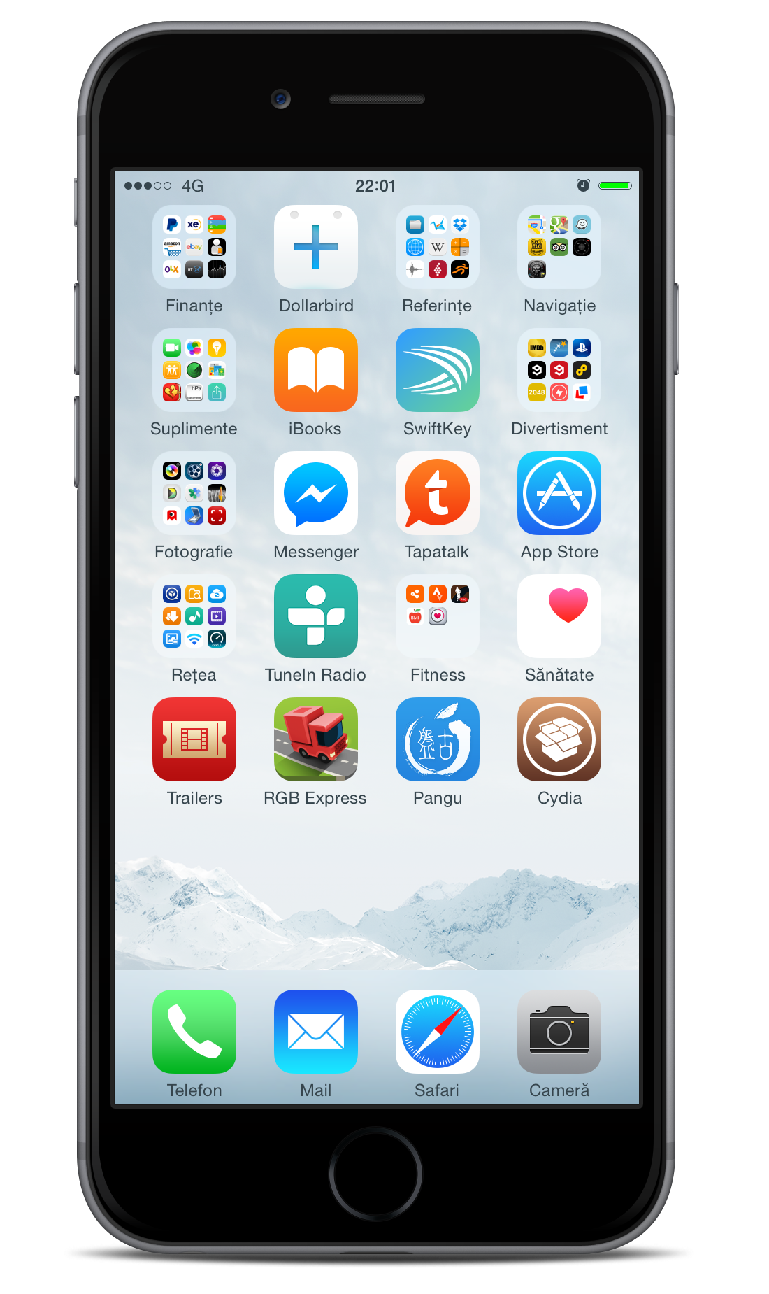General - Post your Jailbroken Home Screen (Part 7, iOS 8 JB)  Some