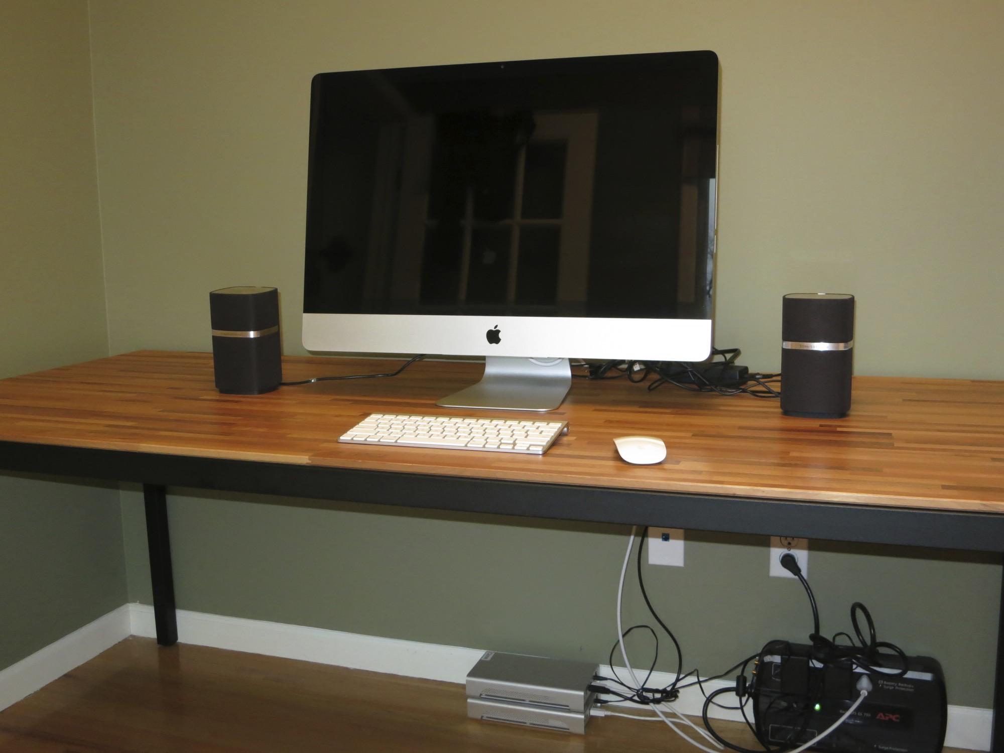 Desk for 27 inch imac best home design 2018 - Desk for imac inch ...