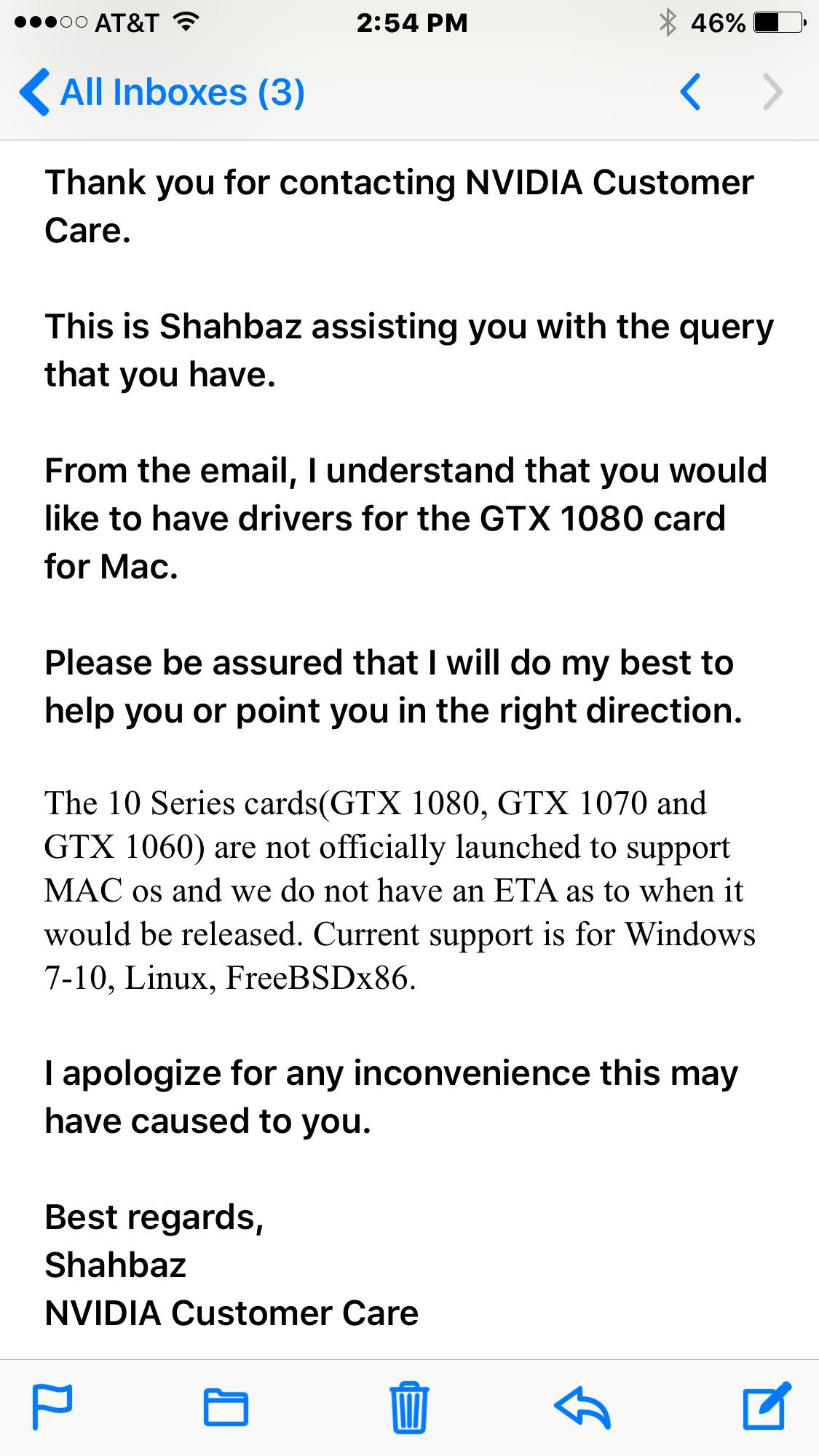 Webdriver for GTX 1080&1070 | MacRumors Forums