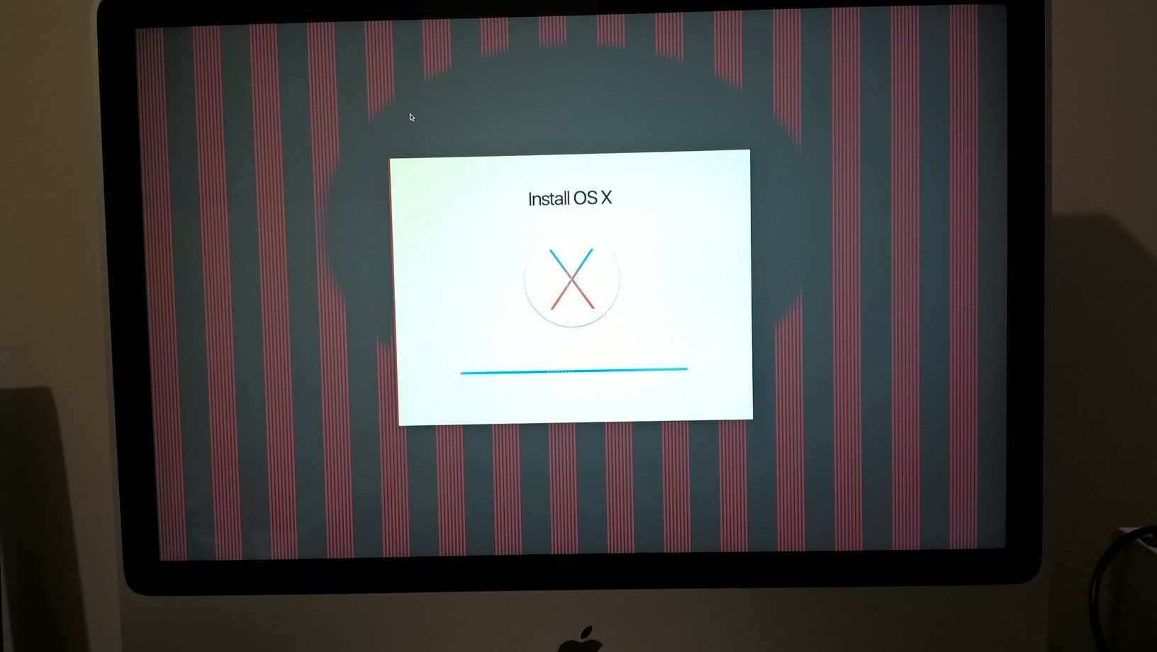 Vertical stripes on screen, can't boot into Mac   MacRumors