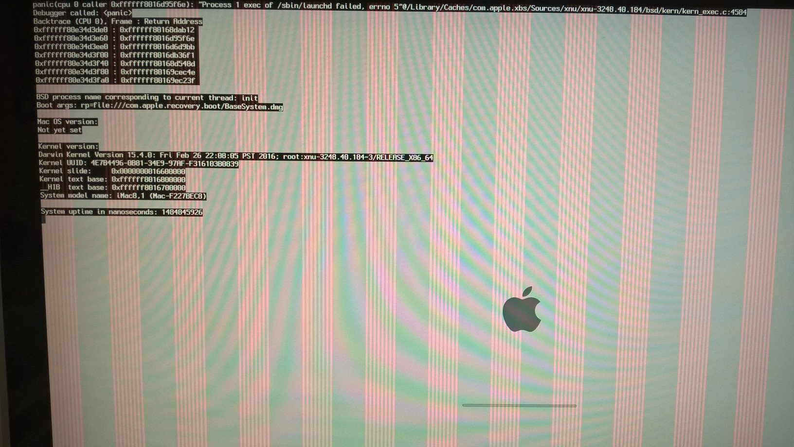 mac usb recovery boot