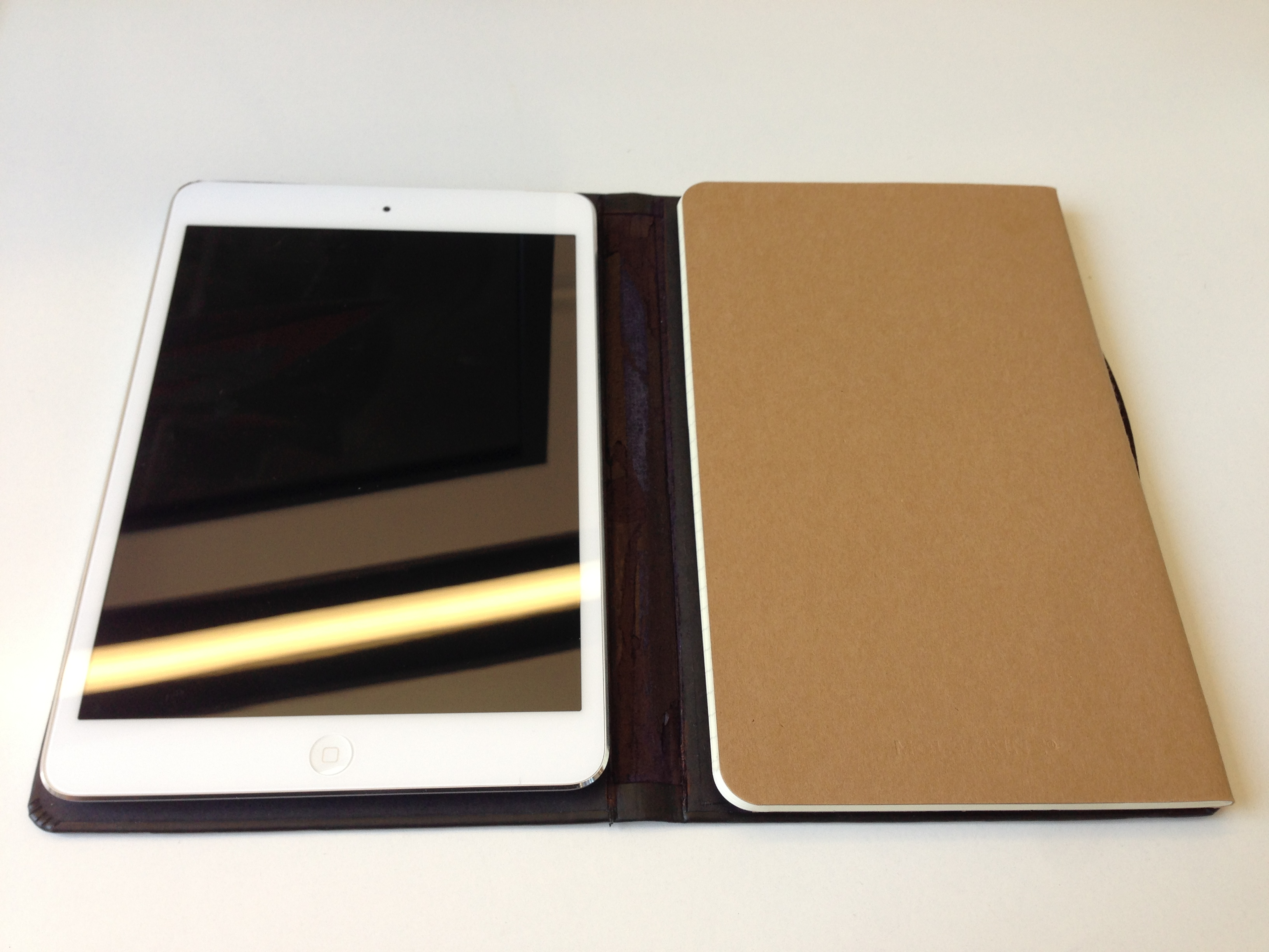 on sale f4d42 1f757 iPad mini - Couldn't find my perfect case, so made my own; Moleskine ...