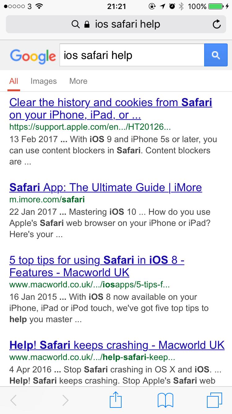 Help! Safari Font Changed!   MacRumors Forums