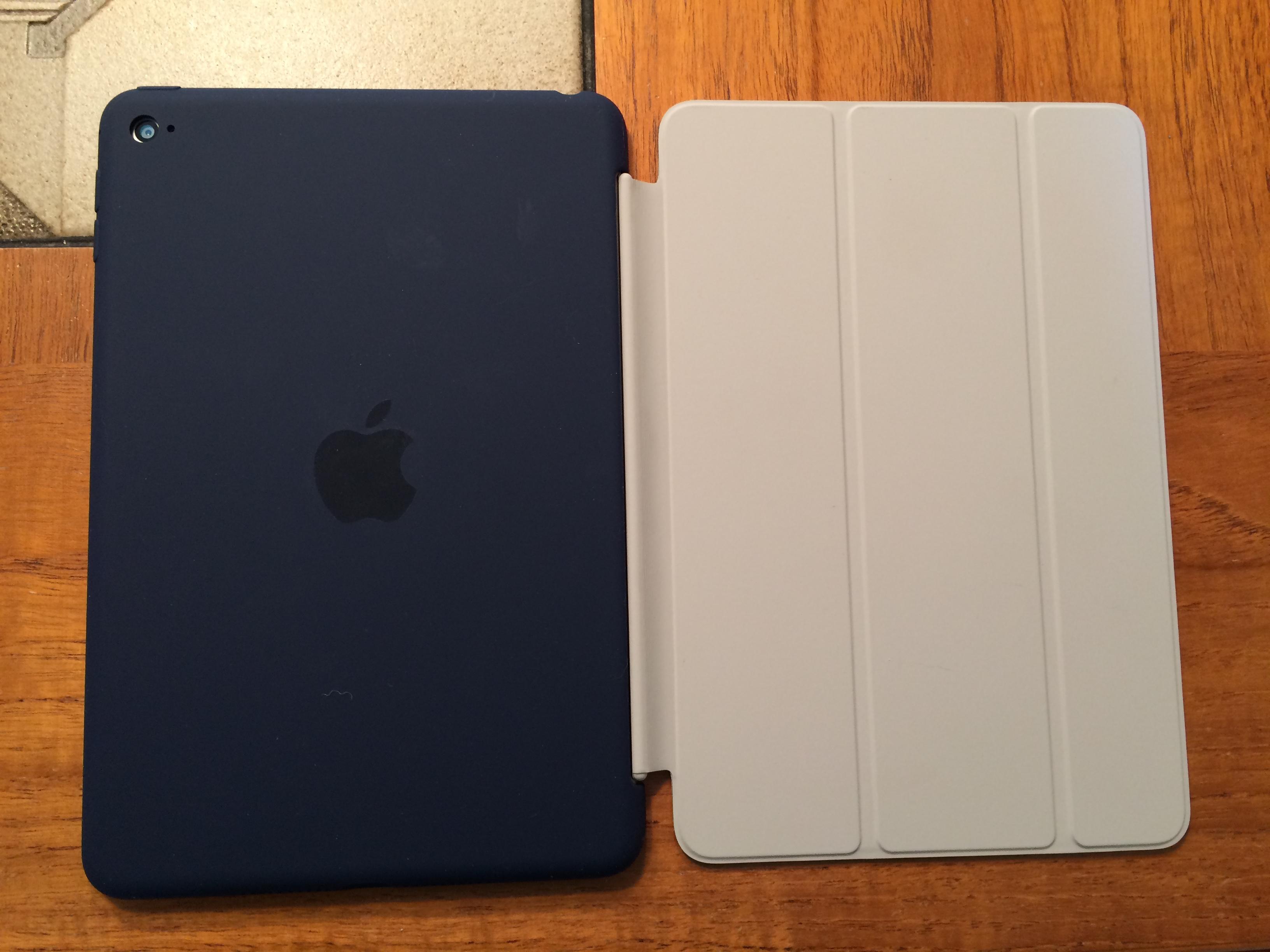 apple ipad mini 4 7 9 smart cover anthrazit. Black Bedroom Furniture Sets. Home Design Ideas