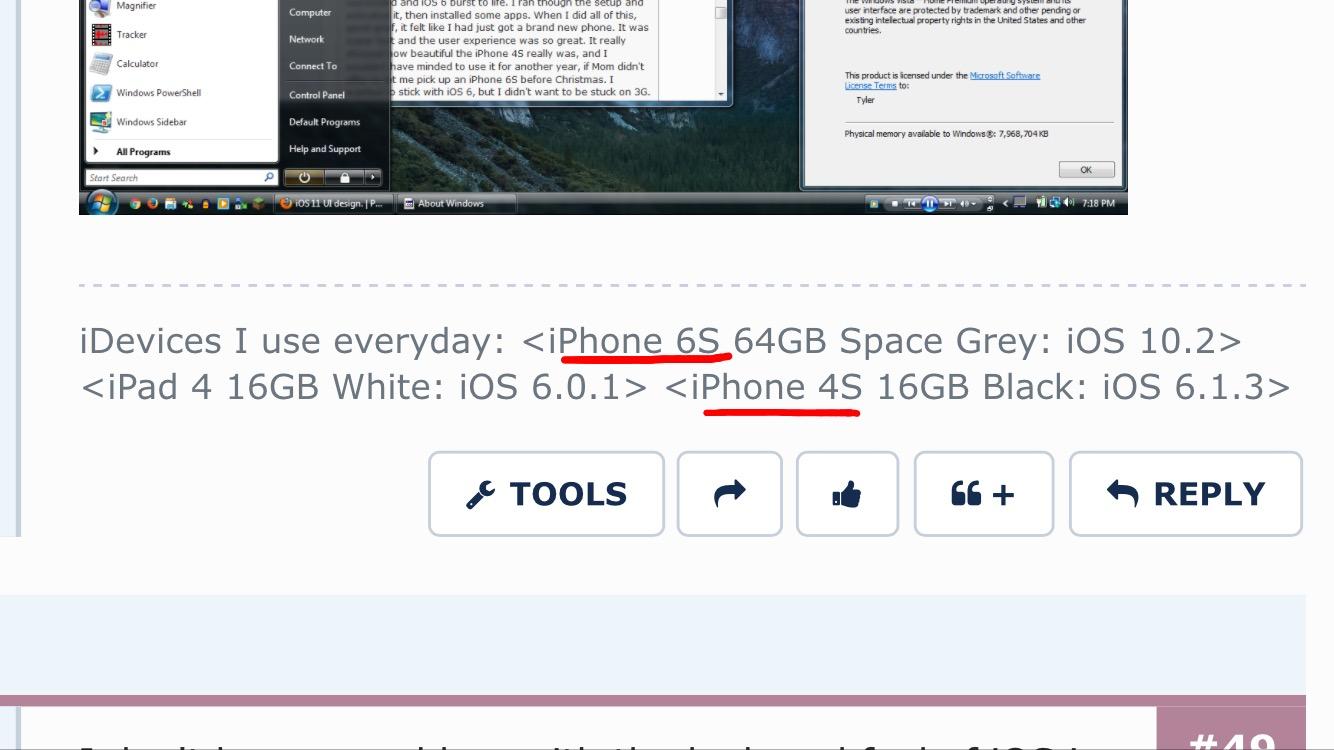 iOS 11 UI design. | Page 3 | MacRumors Forums