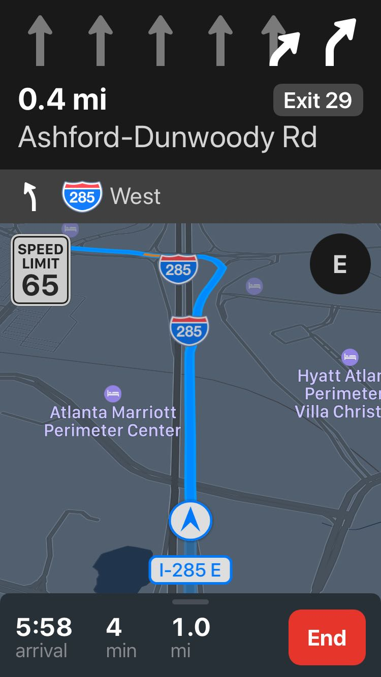 Speed Limits Shown In Apple Maps MacRumors Forums - Dynamic us map flyover