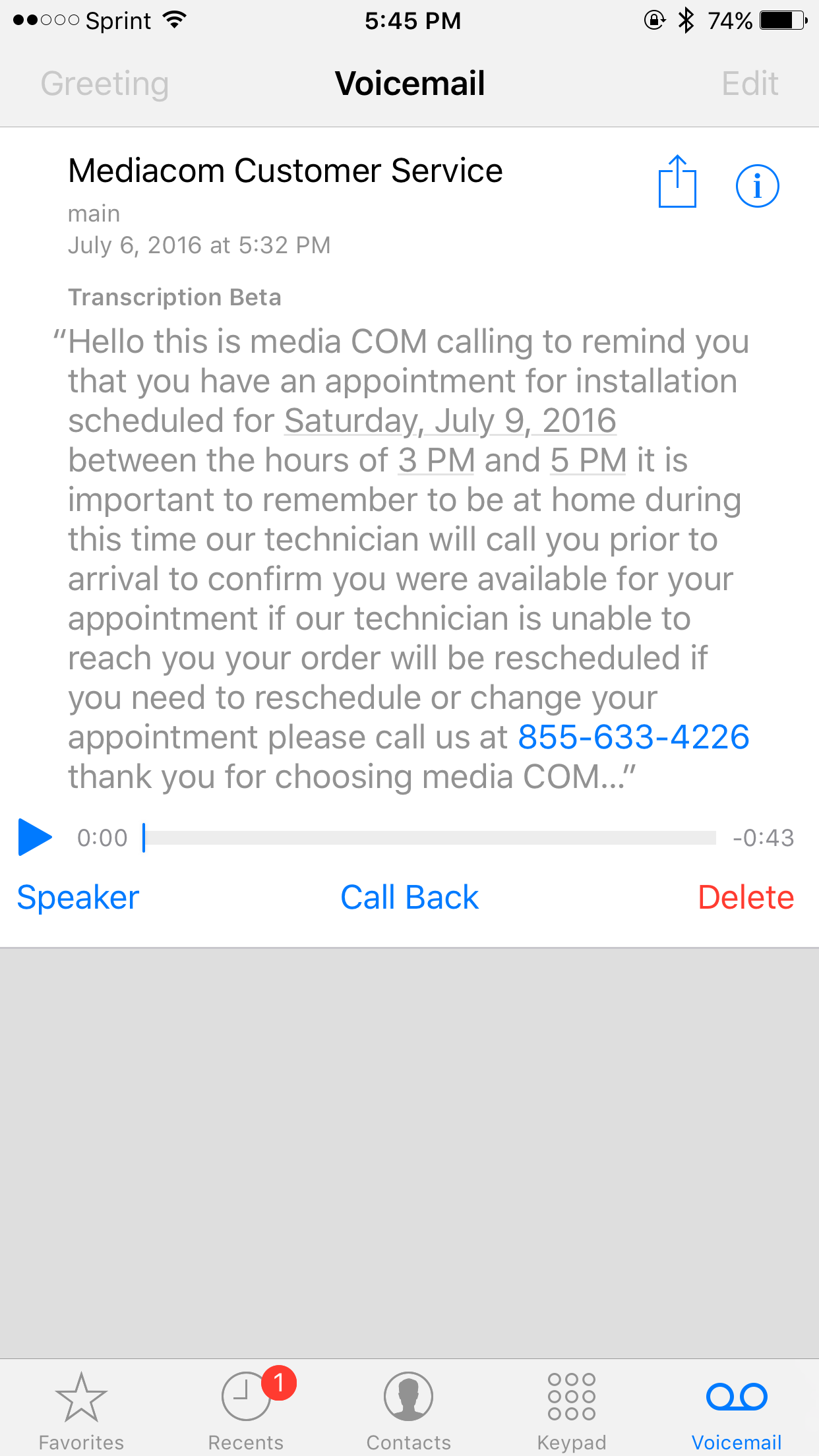 Voicemail transcription macrumors forums img3552g kristyandbryce Image collections