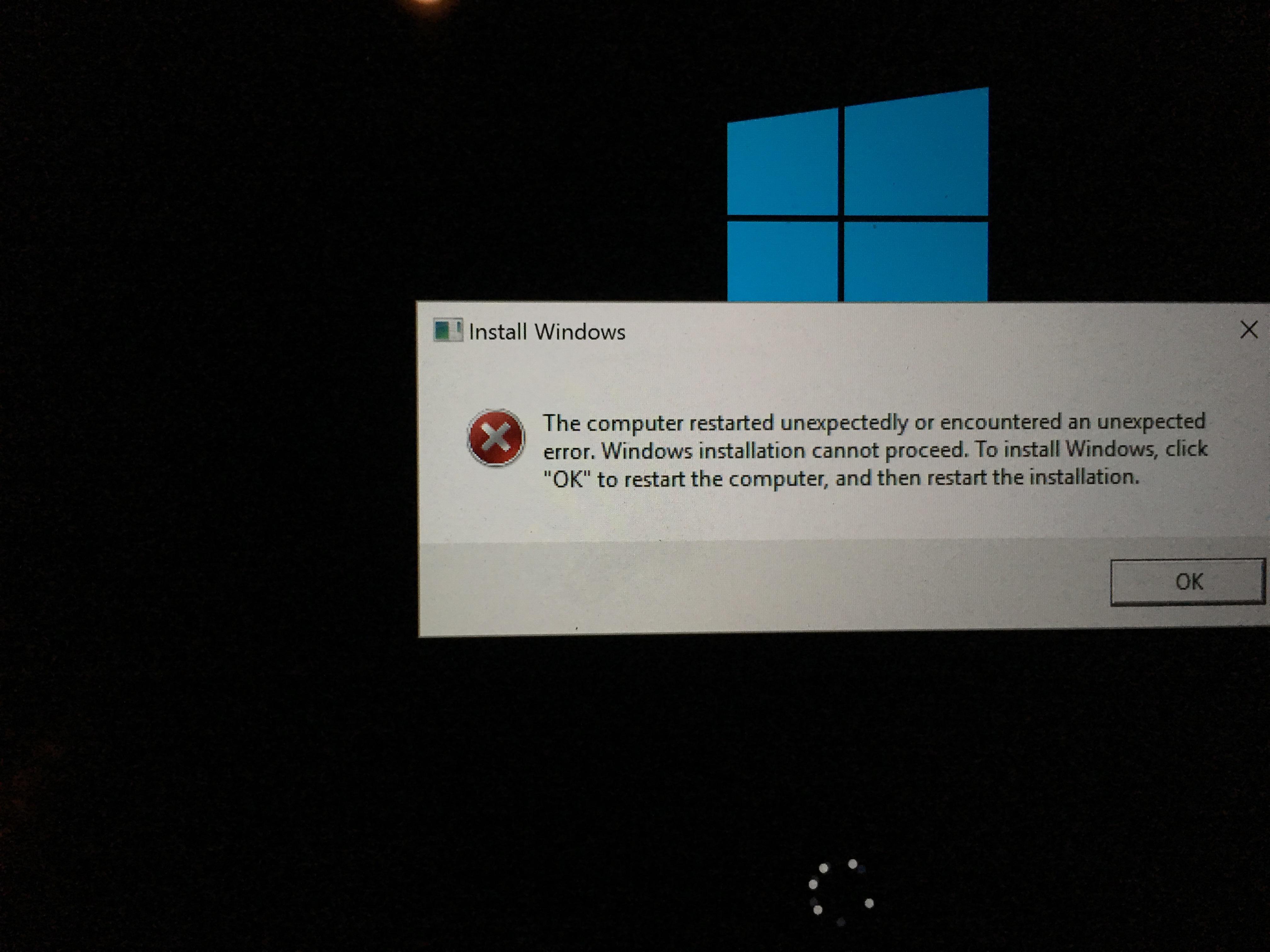 Boot Camp Windows 10 Install
