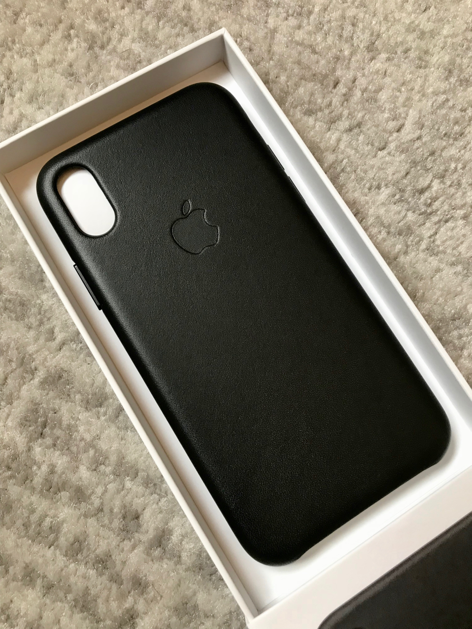 finest selection 61ebe 75040 iPhone X Leather Case arrived [Pics Inside]   MacRumors Forums