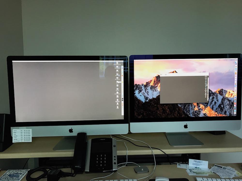 Monitor wirelessly use imac as MacBook Pro
