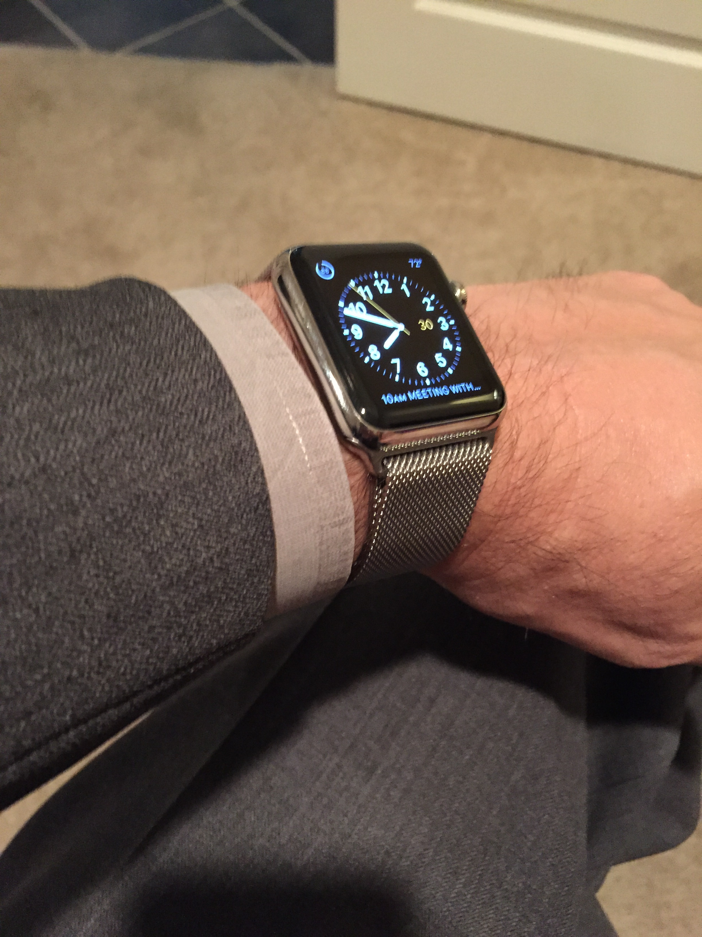 knockoff album on watches watch grey imgur space series gallery milanese apple loop