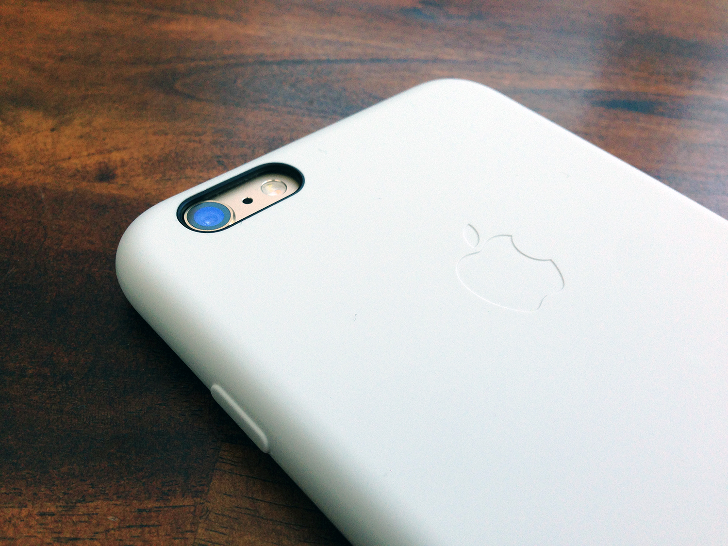 white silicone case for iphone 6