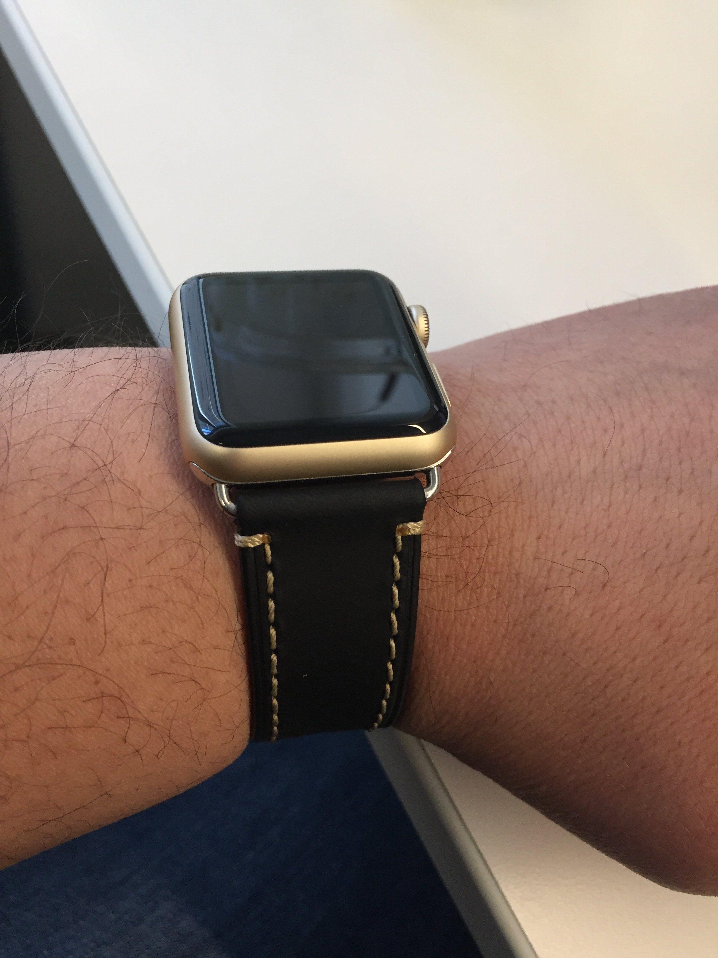 any men with apple watch in gold macrumors forums