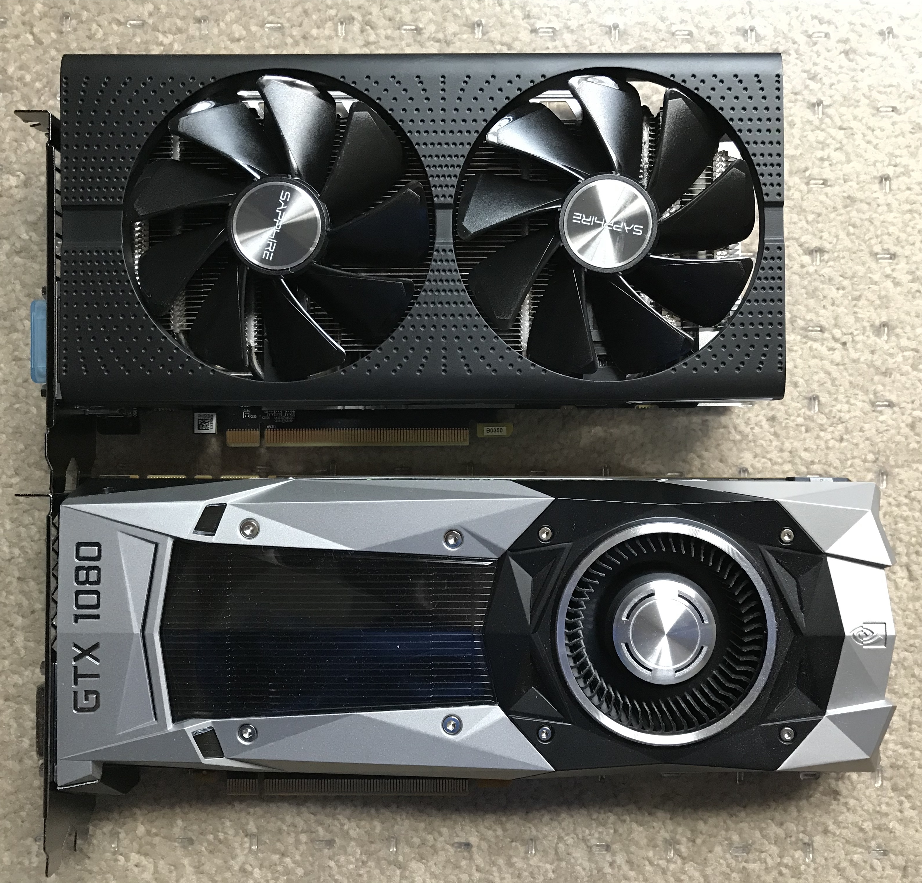 MP5,1 & Sapphire PULSE RX580 8GB - Spacer/Wedge for PCIe Slot 2