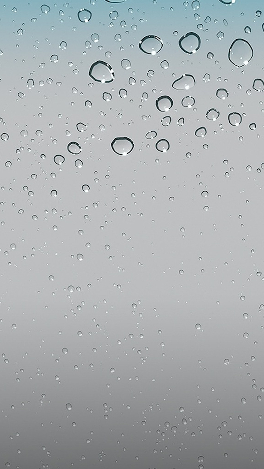Orginal Raindrop Wallpaper Customized For Iphone 6 Plus