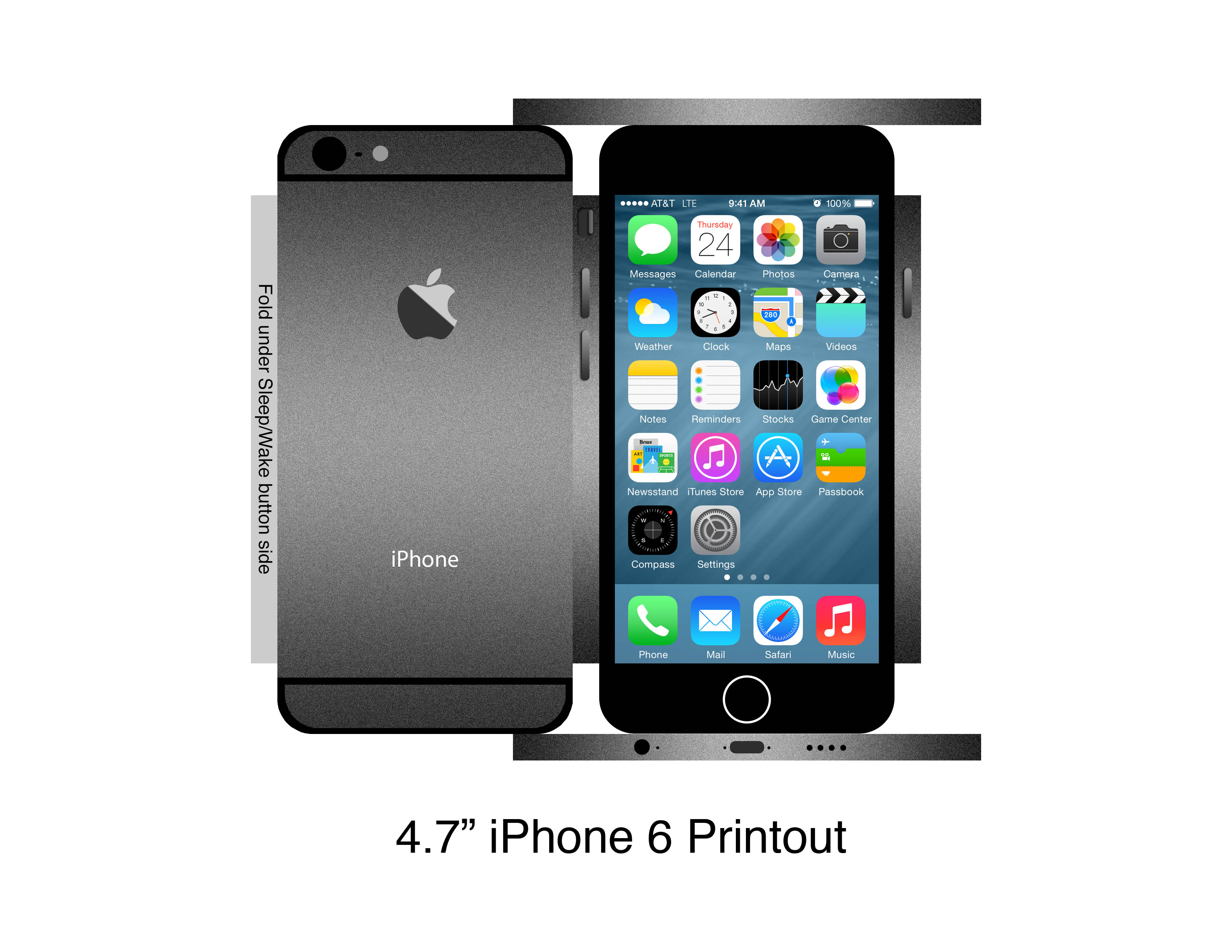 iPhone 6: printable actual size outlines? | MacRumors Forums
