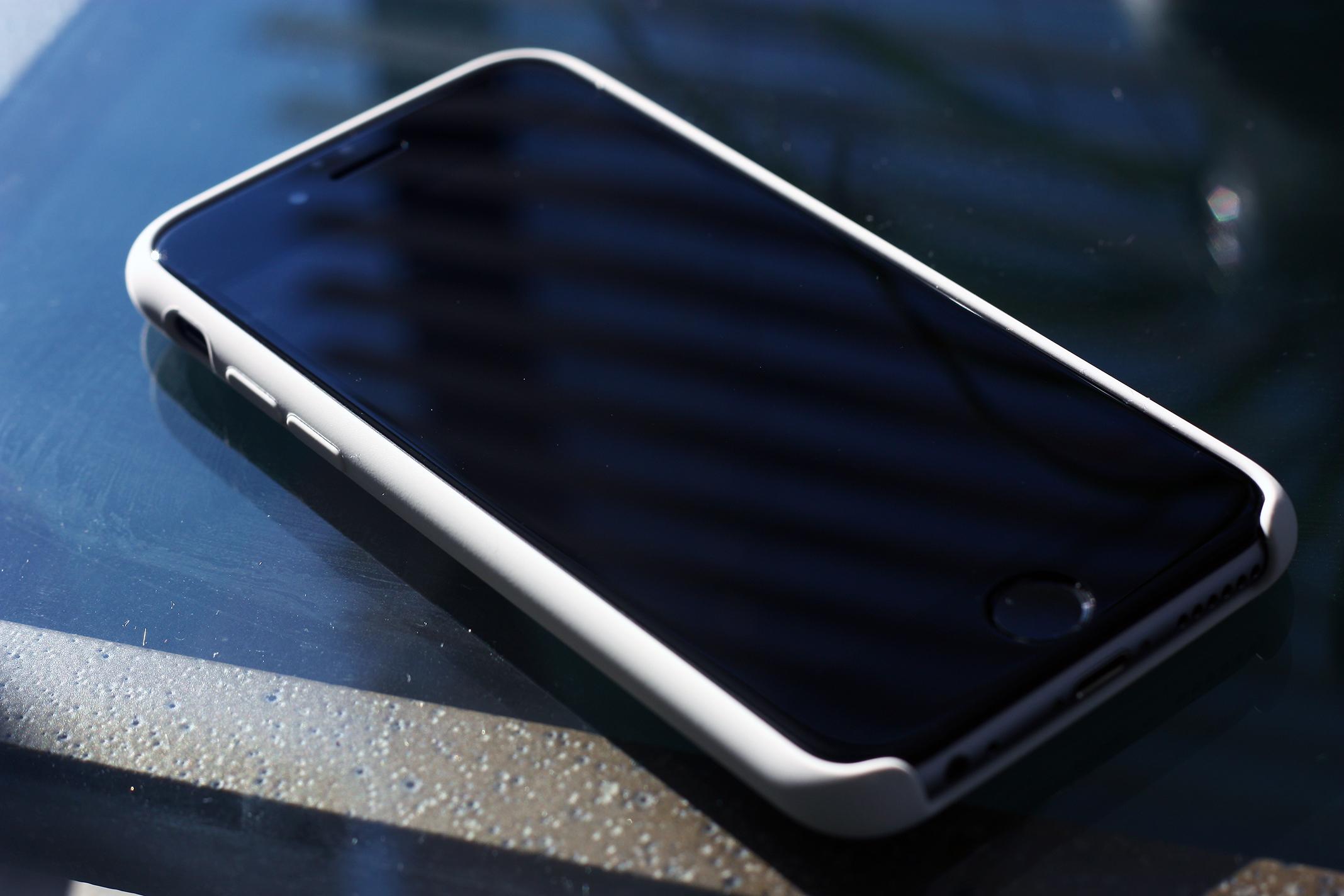 iphone 6s white silicone case