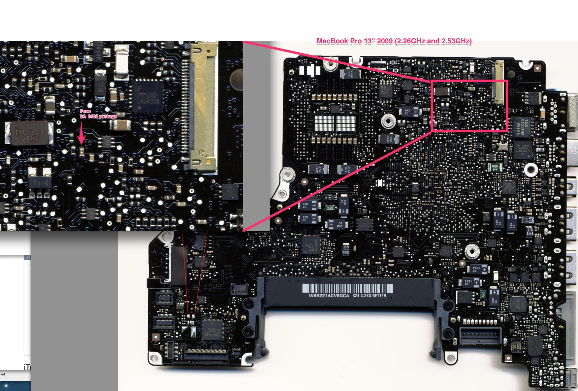 Macbook Pro Backlight Fuse Locations Macrumors Forums How To Replace A Blown Mbp13 2009 Bl Fusejpeg
