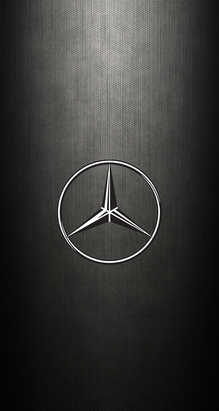 Iphone 6 wallpaper mercedes logo wallpaper images for Www mercedes benz mobile com iphone