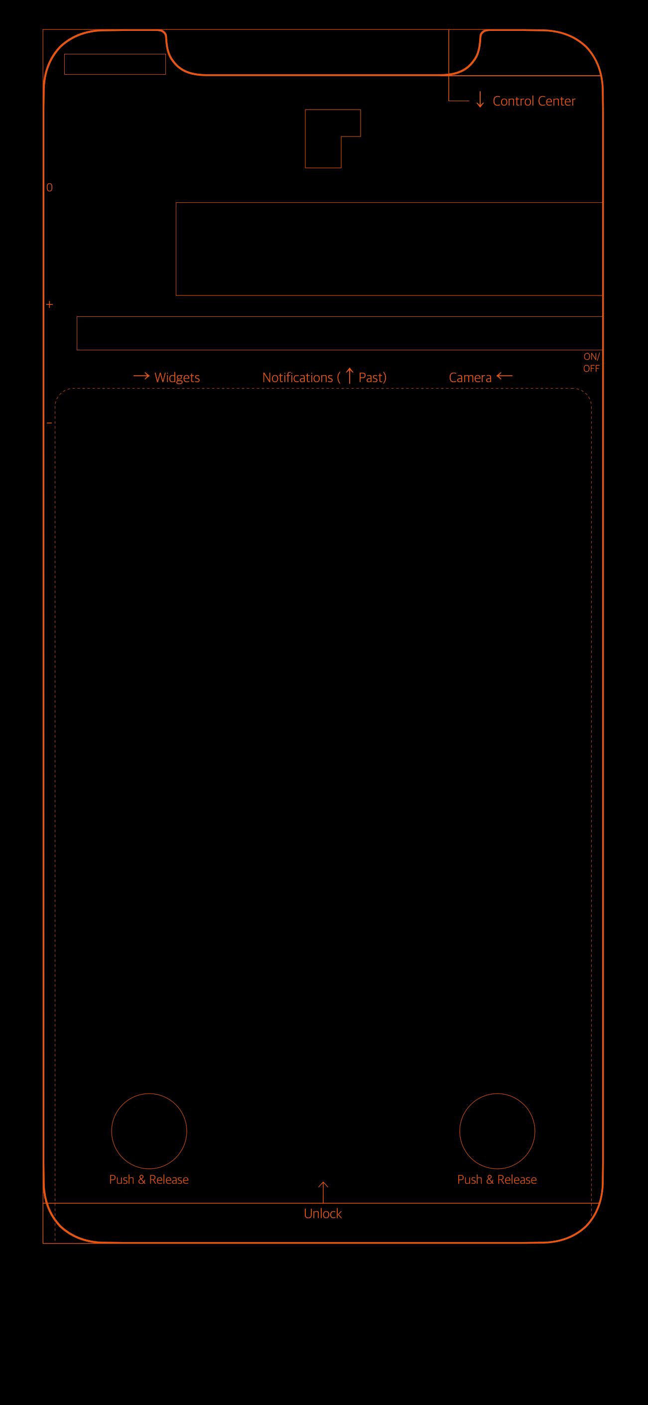 Iphone Xs Wallpaper Border