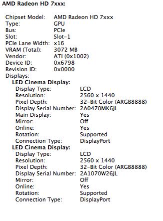 Confirmed AMD Radeon HD 7970 GHz Edition Running on Mac Pro