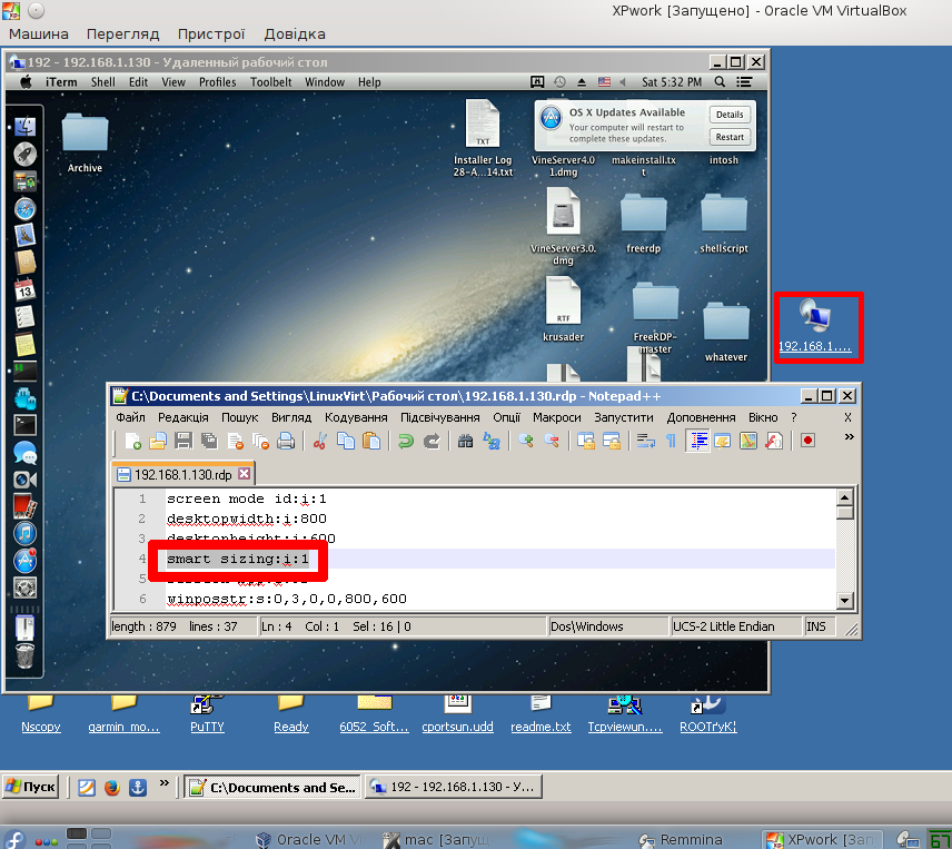 How to] control your mac using win RDP client (XRDP