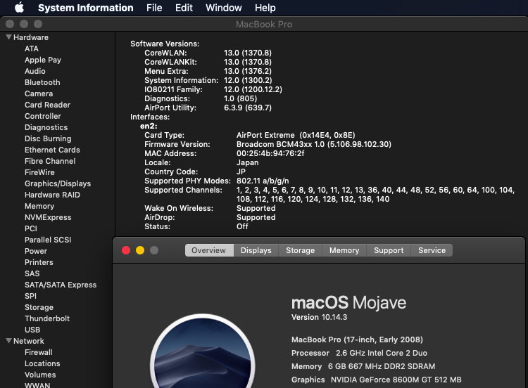 macOS 10 14 Mojave on Unsupported Macs Thread | Page 463 | MacRumors