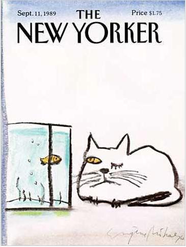 NewYorkerCover-Mihaesco-CatAndFish-1989Sep.png