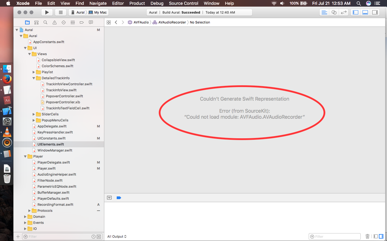 XCode, Swift) XCode 8 not showing foundation classes
