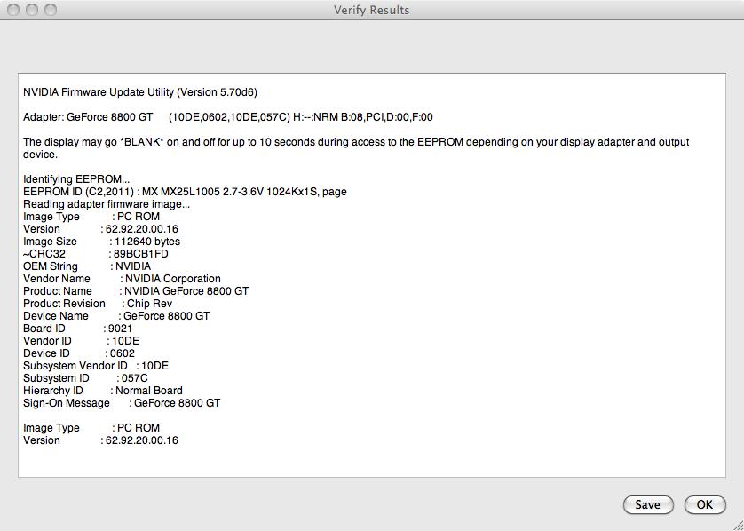 New Mac Nvidia flasher    WHO KNOWS PLATYPUS? | MacRumors Forums