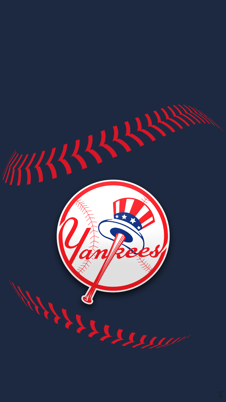 Iphone iphone 6 sports wallpaper thread page 95 macrumors forums ny yankees stitchingg voltagebd Choice Image