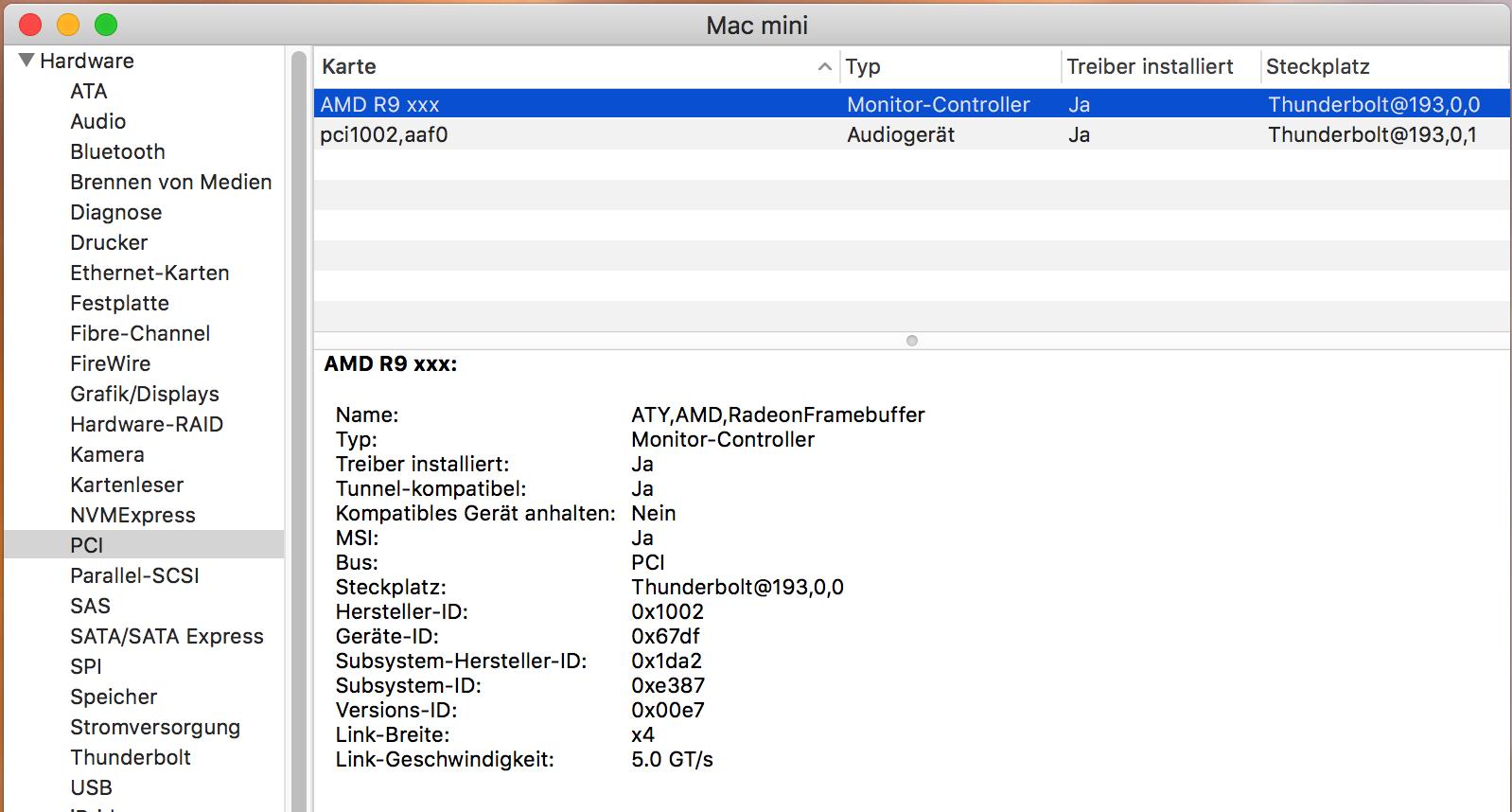 AMD Radeon RX 580 works in macOS | Page 6 | MacRumors Forums