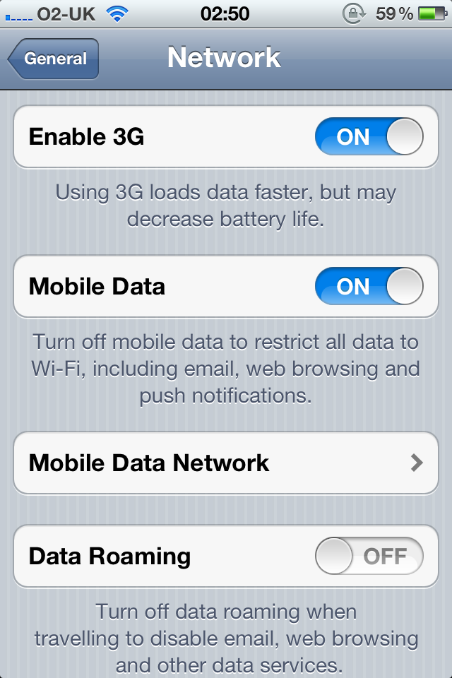 How do i switch from 3g to 2g on my iPhone 4?   MacRumors Forums