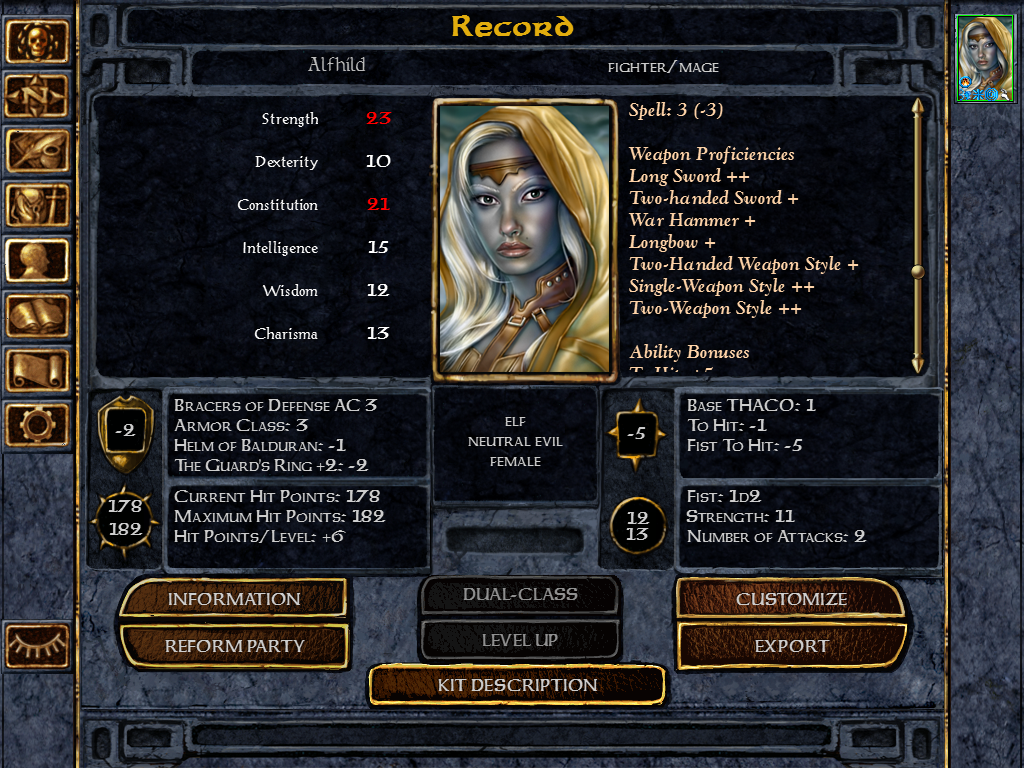 baldurs gate enhanced edition ipad custom portraits