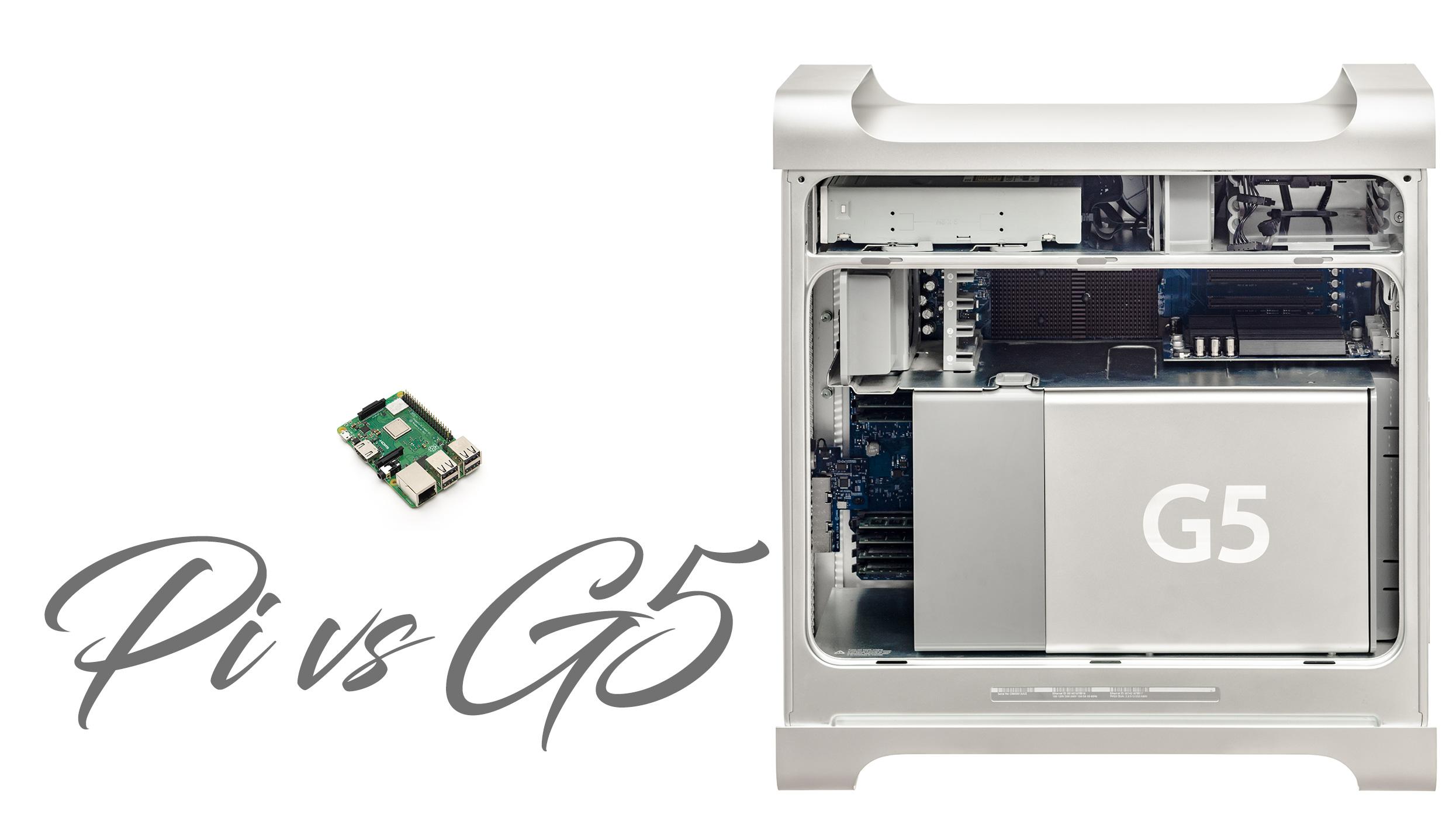 Raspberry Pi vs Power Mac G5 | MacRumors Forums