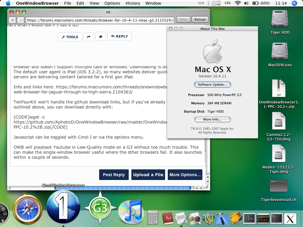 web browser for mac 10.4.11