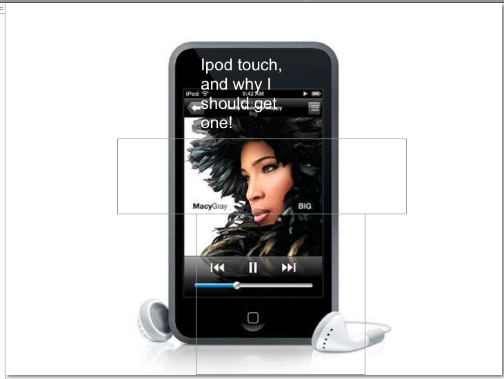 How do I convince my parents to buy me an ipod touch?