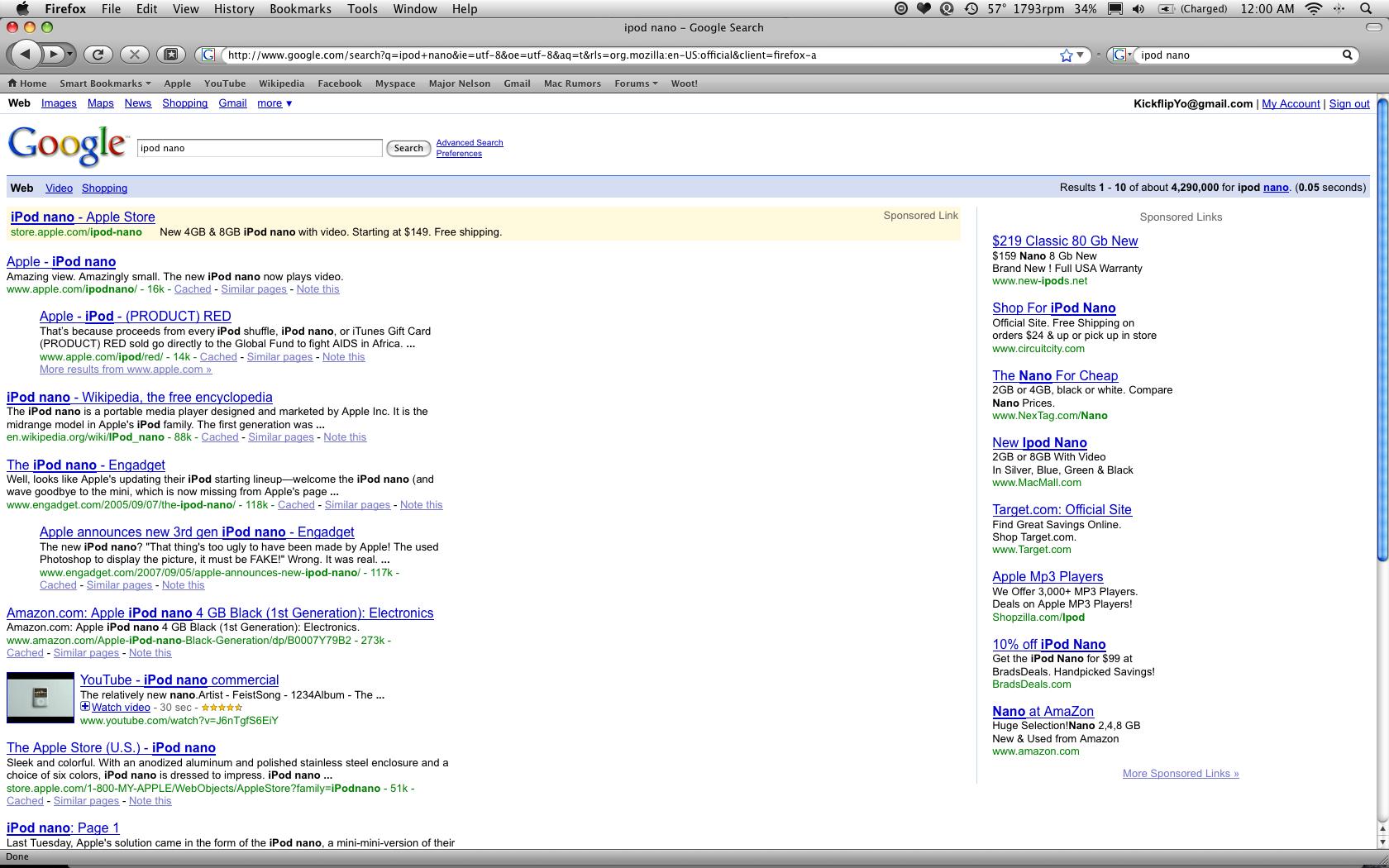 Safari or Firefox won't fill entire screen! | MacRumors Forums