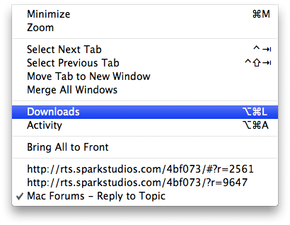 Accidentally deleted download folder from dock | MacRumors Forums