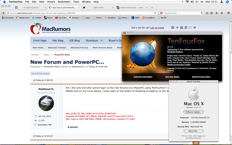 New Forum and PowerPC    | MacRumors Forums